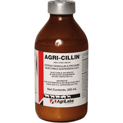 Agri-Cillin Penicillin G Injectable, 100ml