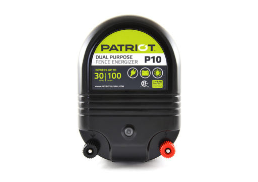 Patriot P10 Dual-Purpose Fence Energizer