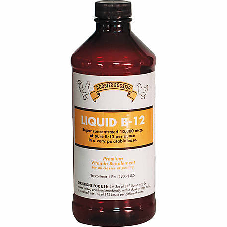 Rooster Booster Liquid B-12, 16 fl oz