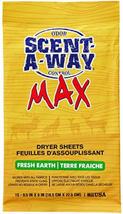 Dryer Sheet, Scent-A-Way Max