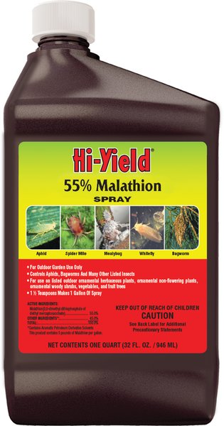 Hi-Yield Malathion 55%, 32 fl oz