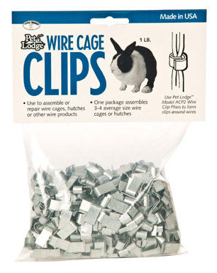 Pet Lodge Wire Cage Clips