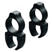 "Scope Rings Rifleman Detachable 3/8"" See-Thru 1"""