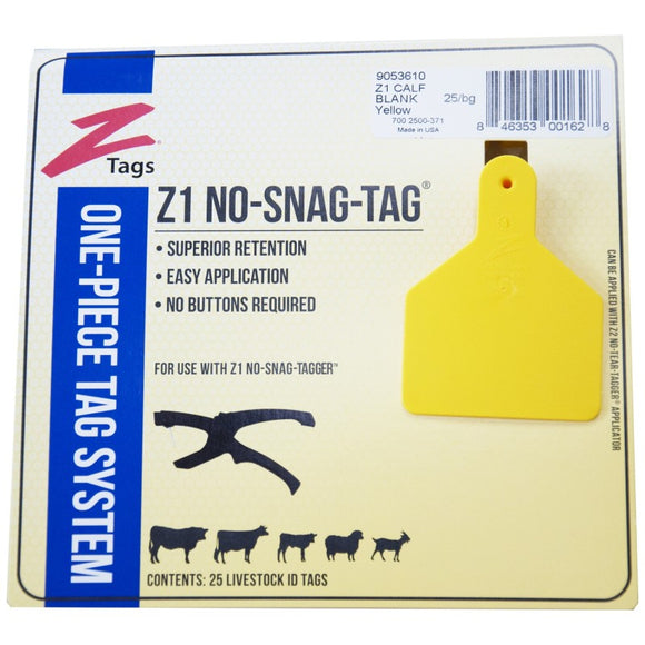 Z Tags for Cattle