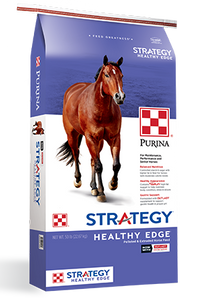 Purina Strategy Healthy Edge Horse Feed, 50lb