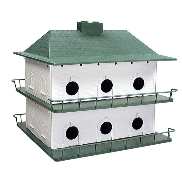 Purple Martin House, Poly