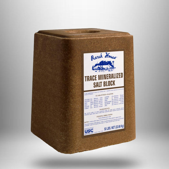 Salt Blocks Trace Mineral, 50lb