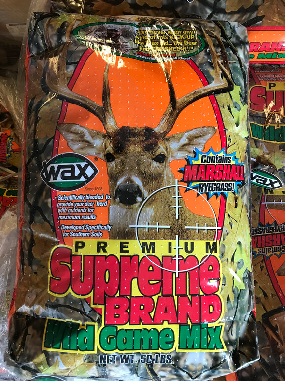 Wild Game Mix 4-Way Supreme, 50lb