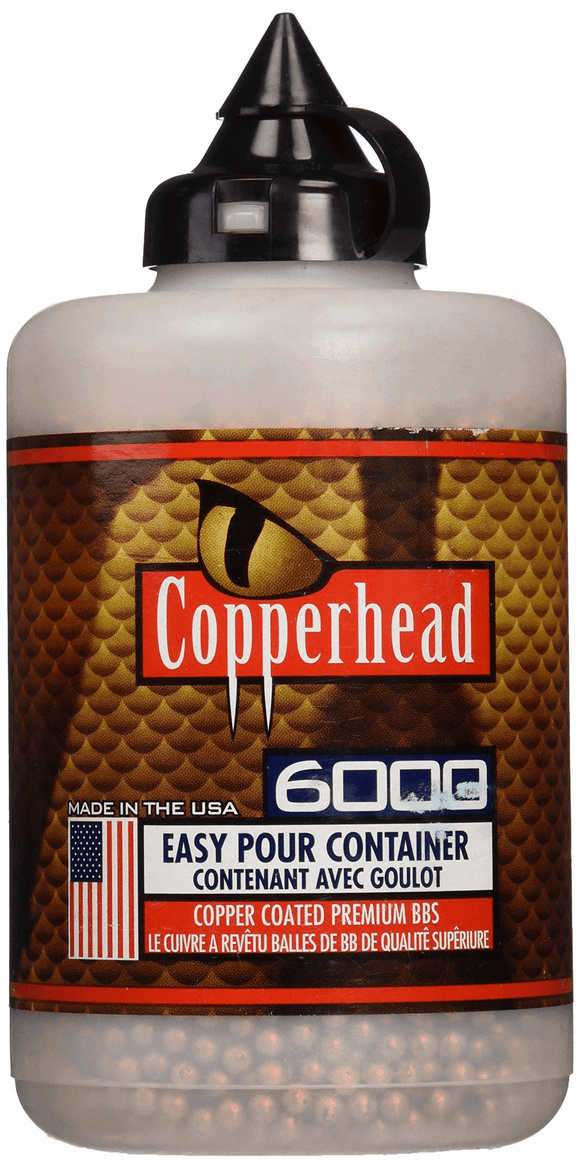 Crosman Copperhead 4.5mm BBs, 6000ct