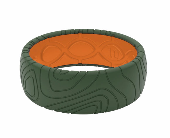 Groove Topography Silicone Ring