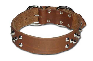 Bully Leather Ornamented Collar