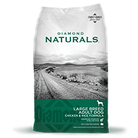 Diamond Naturals Large Breed Adult Chicken & Rice, 40lb