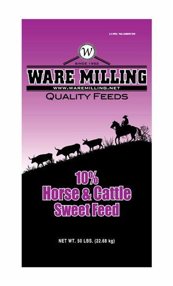 Horse & Cattle Sweet Feed 10%, 50lb