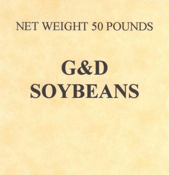 G&D Soybeans, 50lb