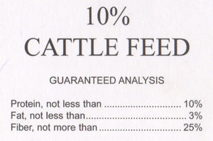 G&D Cattle Feed 10%, 50lb