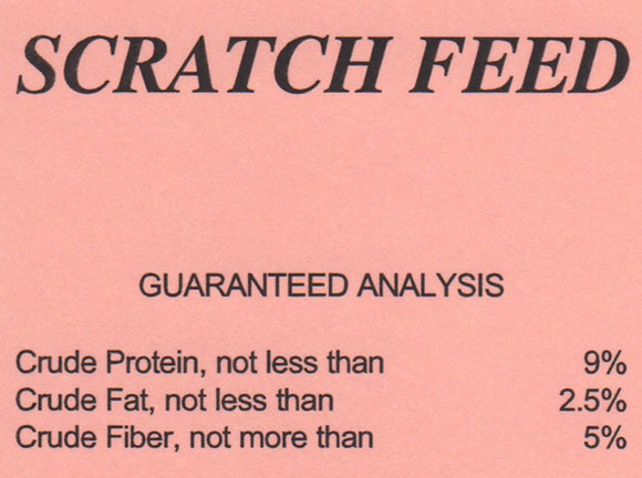 G&D Scratch Feed, 50lb