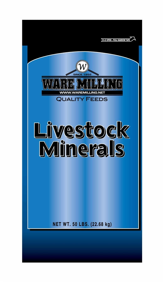 Ware Milling All Purpose Minerals, 4% Phos, 50lb