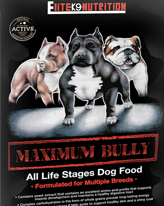 Maximum Bully Dog Food, 30lb