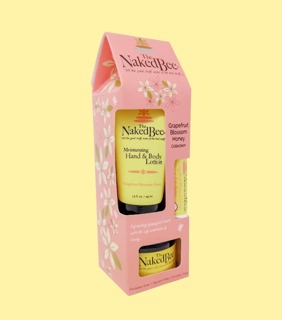 Naked Bee Gift Set - Grapefruit & Honey Gift Collection