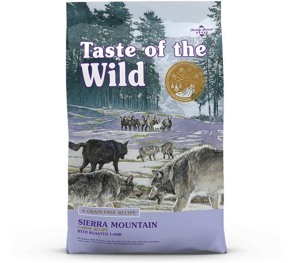 Taste of the Wild Canine Sierra Mountain Lamb