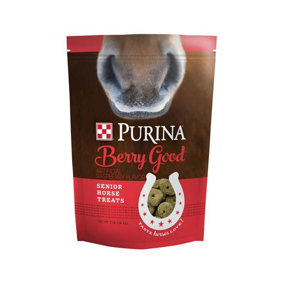 Purina Horse Treats Berry Good Senior , 3lb