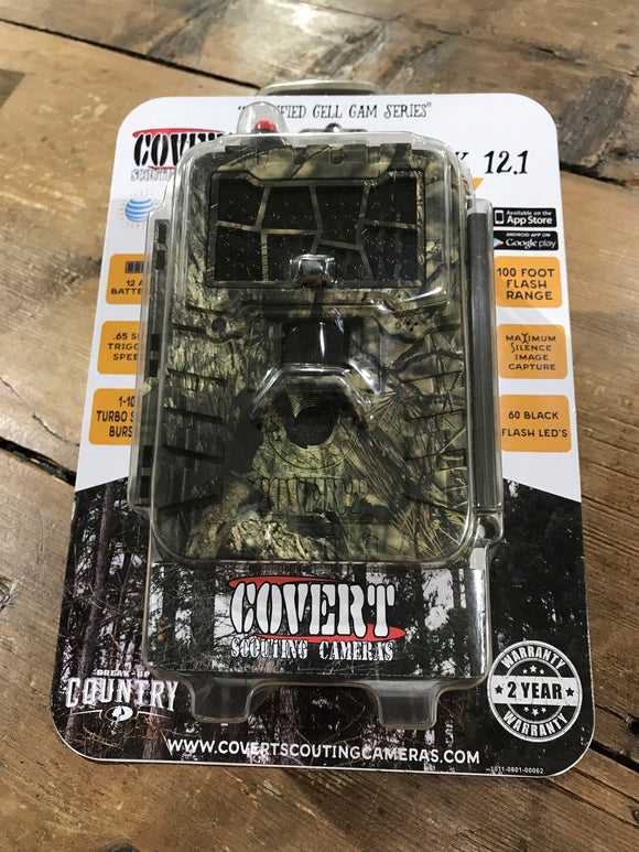 Covert - Code Black 12.1 AT&T Certified Wireless Trail/Game Camera