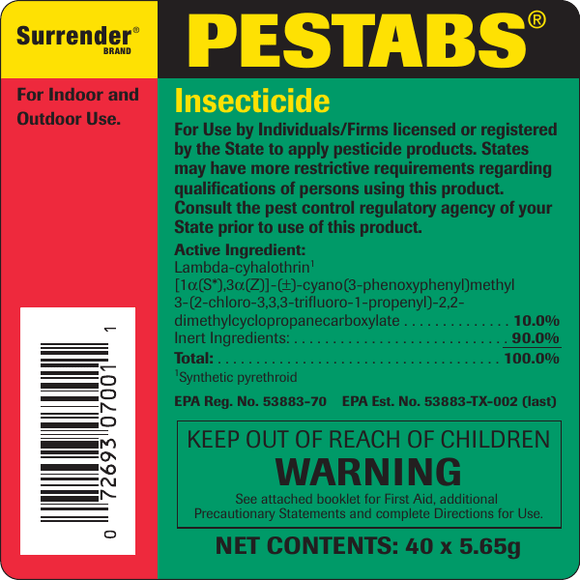 Pestabs Insecticide