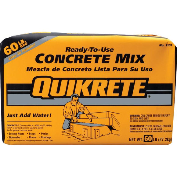 Quikrete Concrete Mix, 60lb