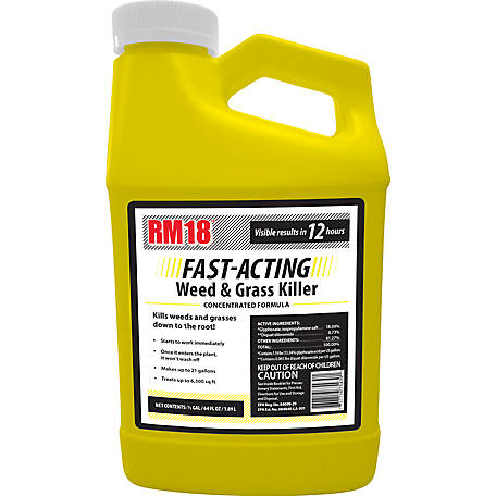 RM18 FAST-ACTING Weed & Grass Killer