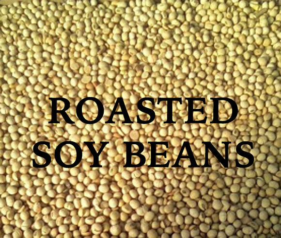 Soybeans, Roasted, 50lb