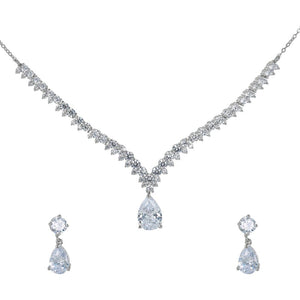 Set. Necklace & Earrings-N63