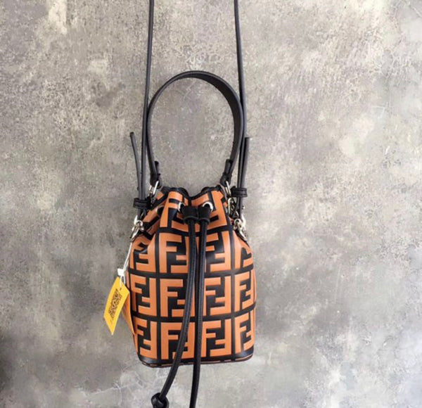 Fendi Leather crossbody purse
