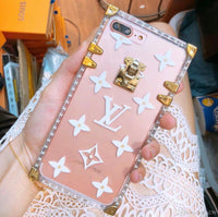 Transparent Louis Vuitton Case