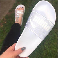 Puma transparent slides