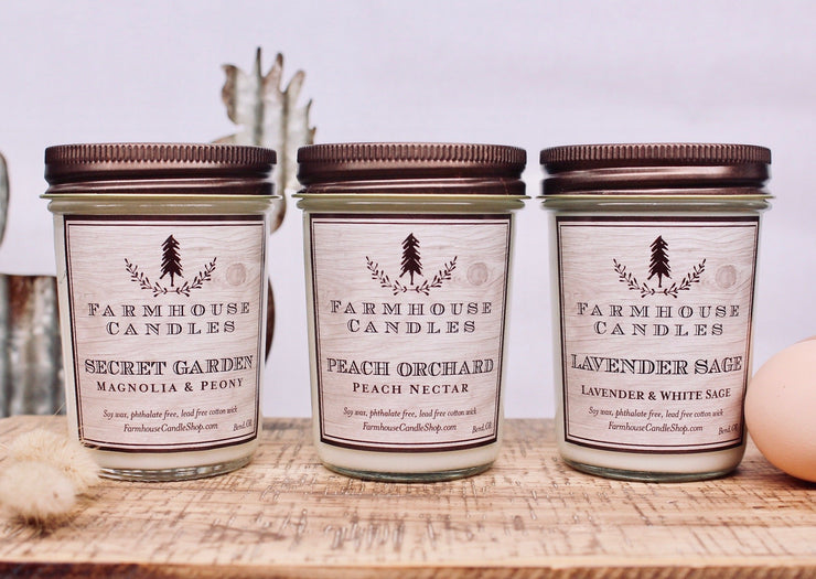 8oz Spring Candle Bundle