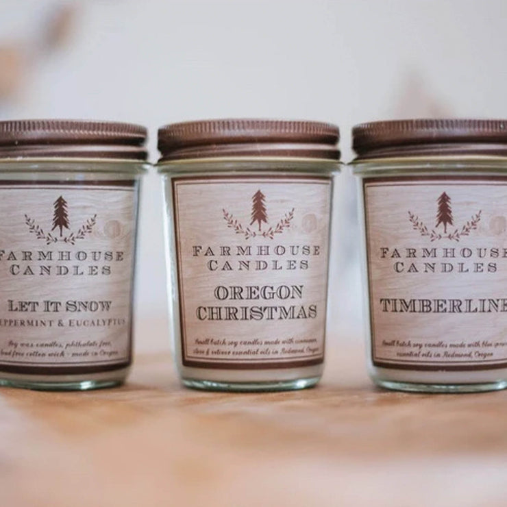Winter Candle Bundle - Farmhouse Candle Shop