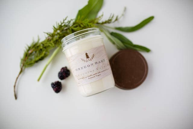 Oregon Sage Candle