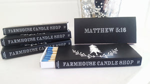 Farmhouse match box