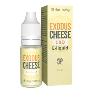 CBD E-Liquid (100-600mg) - Harmony - Exodus Cheese