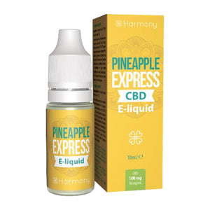 CBD E-Liquid (30-600mg) - Harmony - Pineapple Express