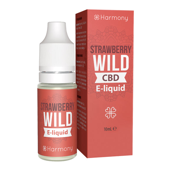 CBD E-Liquid (100-600mg) - Harmony - Strawberry Wild