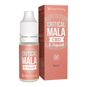 CBD E-Liquid (100-600mg) - Harmony - Critical Mala