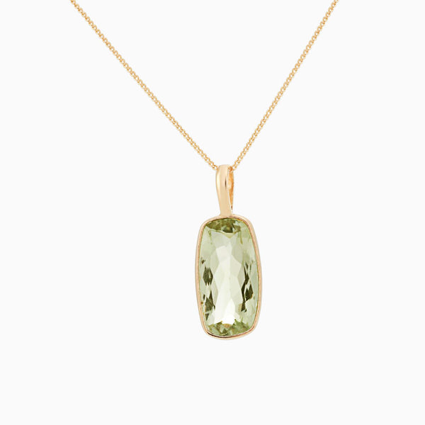 Golden Figure Green Amethyst