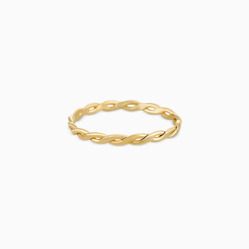 Braid Ring (gold)