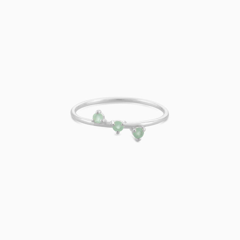 SO Green Aventurine Ring
