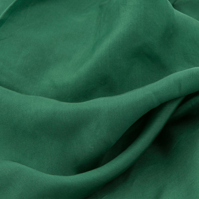 Forest Green Silk