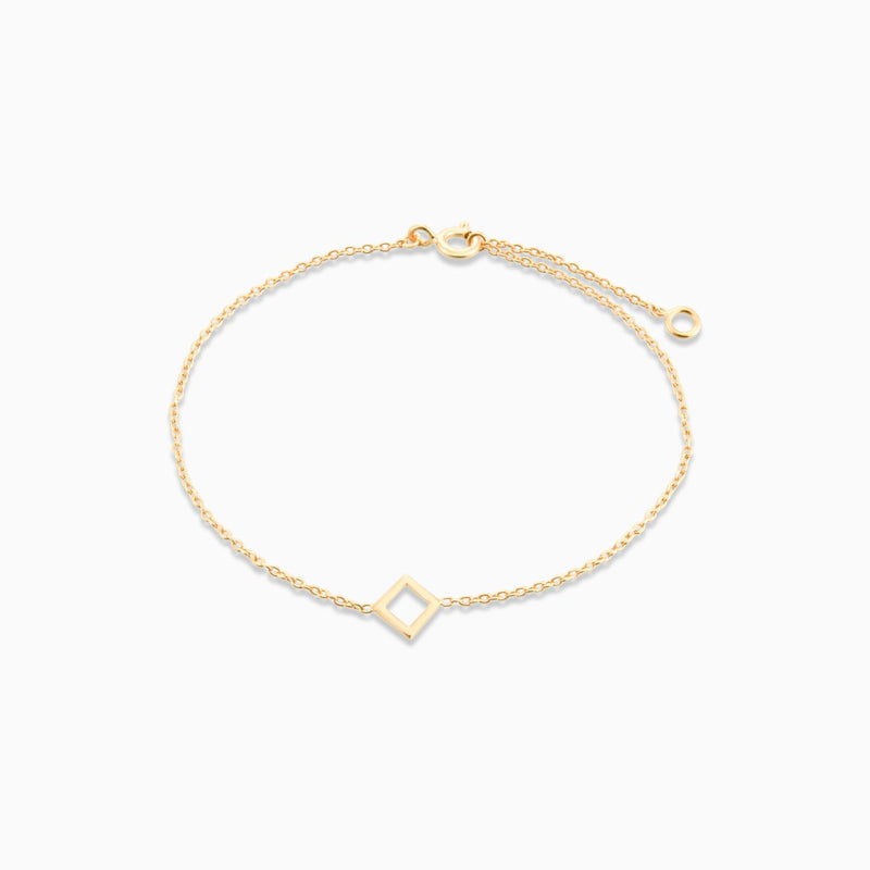 Golden Square (Chain Bracelet)