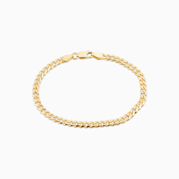 Golden Gourmet Bracelet Thin 7 Inch