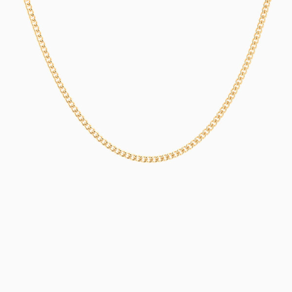 Golden Chain (1.8mm) 18 Inch