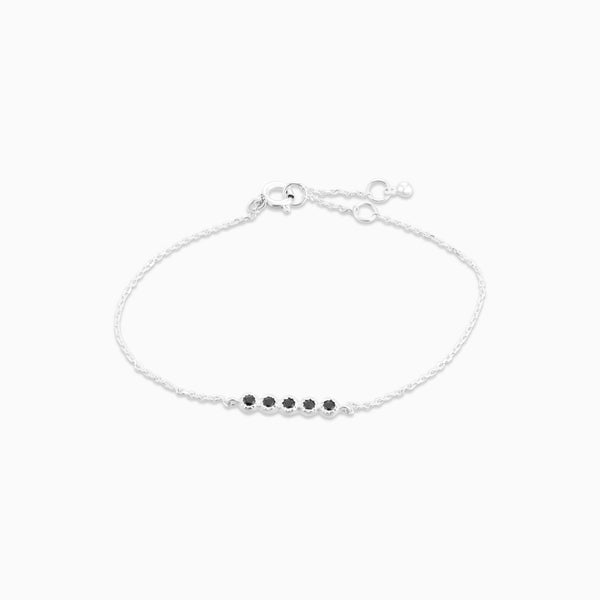 Grace Black Spinel Bracelet